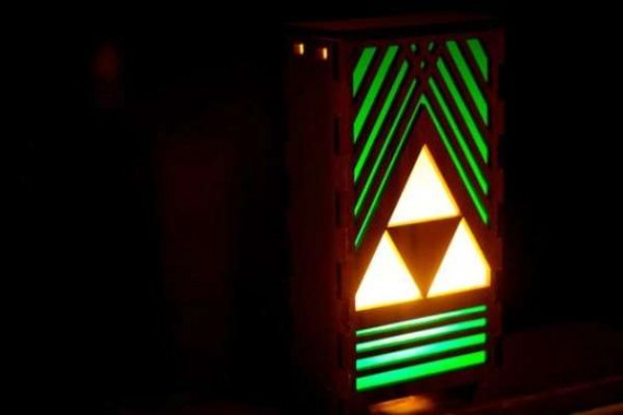 zelda lamp photo - 3