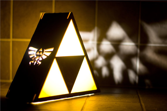 zelda triforce lamp photo - 4