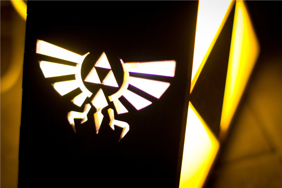 zelda triforce lamp photo - 5