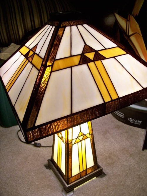 zelda triforce lamp photo - 6