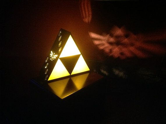 zelda triforce lamp photo - 7